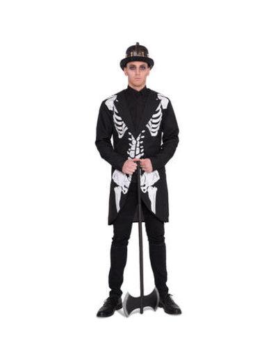 Kostuum Skeleton Colbert- Heren