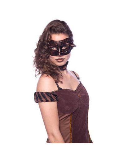 Accessoires Steampunk Masker Geneva
