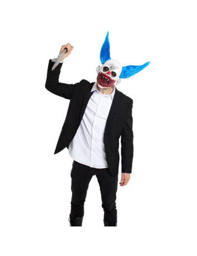 Accessoires Bloederig Clown Masker met Haar