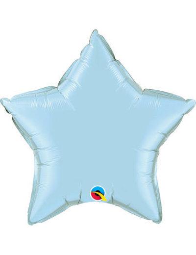 Folieballon Folieballon Ster Licht Blauw - 50cm