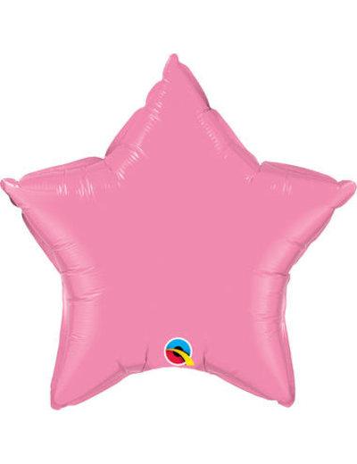 Folieballon Folieballon Ster Licht Roze - 50cm