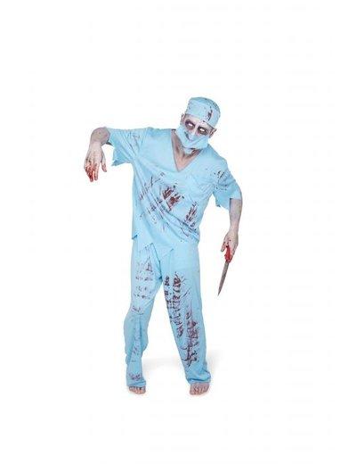 Kostuum Zombie Chirug Kostuum - Heren