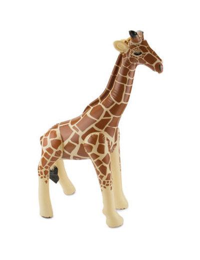 Accessoires Giraffe Opblaasbaar - 75cm