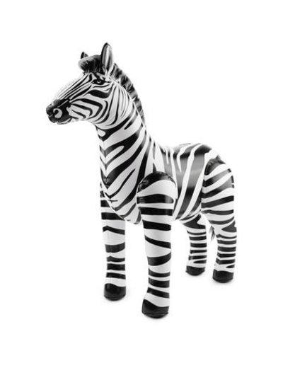 Accessoires Zebra Opblaasbaar - 60cm