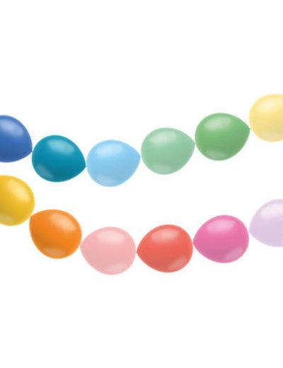 Knoopballonnen Knoop Ballonnen Rainbow - 12stk