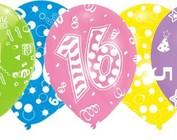 Geprinte Verjaardag Ballonnen
