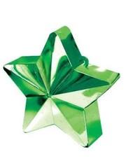Ballongewicht Groen 3D Ster