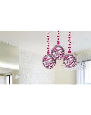 Sweet 16 Hangdecoratie