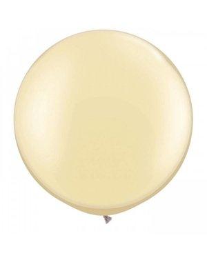 Top Ballon Ivoor Metallic XL - 90cm Qualatex