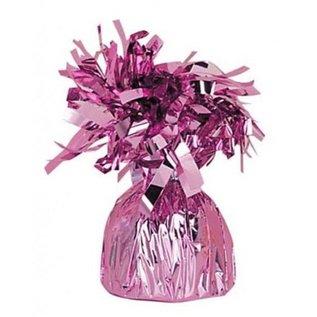 Roze Metallic Finish Folie Helium Ballongewicht