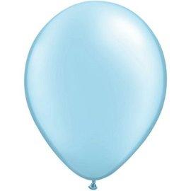 Ballonnen Latex 20x 13cm Baby Blauwe Ballonnen