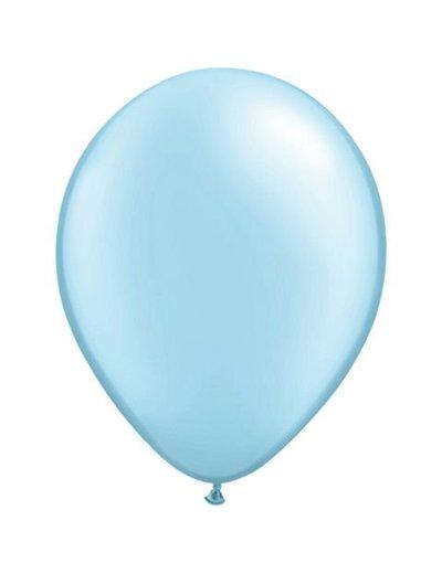 Ballonnen Baby Blauw 13cm - 20stk