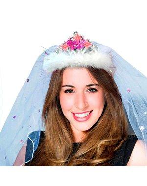 Bride to Be Tiara met Knipperlichtjes