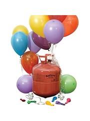 Wegwerp Heliumfles voor 30 of 50 Ballonnen