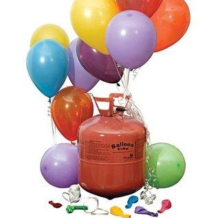 Grote Wegwerp Heliumfles voor 30x 9inch Ballonnen