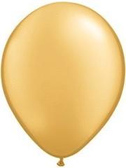 10x 12inch Metallic Gouden Ballonnen