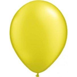 10x 12inch Metallic Gele Ballonnen