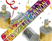 Party Poppers Knallers