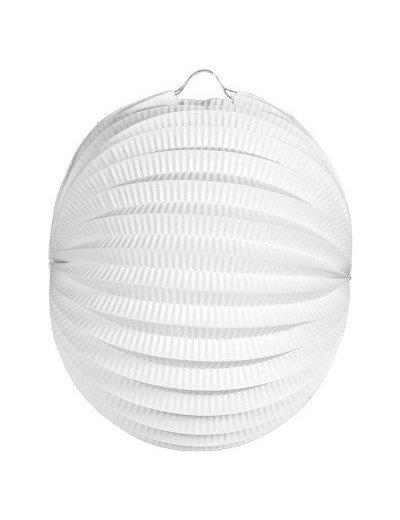Witte Lampion Bruiloft 22cm