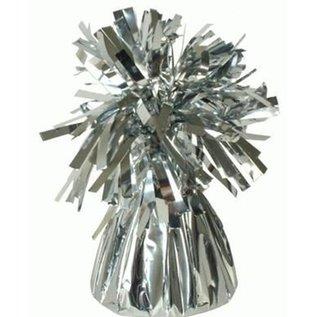 Zilveren Metallic Folie Helium Ballongewicht