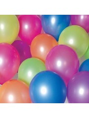 Ballonnen Neon Mix  Gekleurd - 10stk