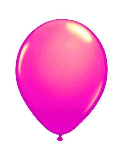 Ballonnen Neon Roze - 10stk