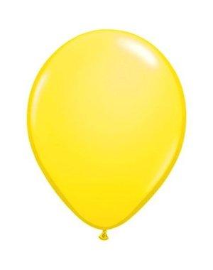 Ballonnen Neon Geel - 10stk