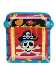 Plastic Piraten Hapjesbord Snack Bord