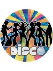 Disco Dancers 70s Weggooi Bordjes