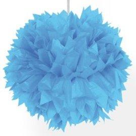 Lichtblauwe PomPoms