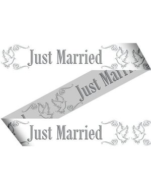 15m Just Married Afzetlint
