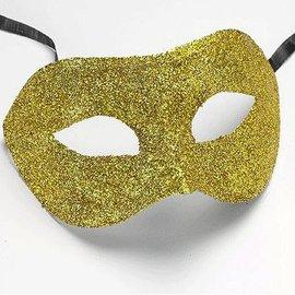 Gouden Glitter Oogmasker