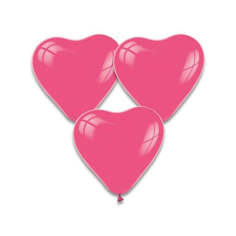 Wonderlijk Mooi Helium Latex Hartjes Ballonnen - Feestperpost UY-32
