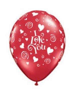 Ballonnen i love You - 10 stk