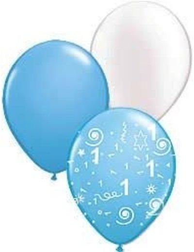 1ste Verjaardag Jongen Ballonnen Pakket
