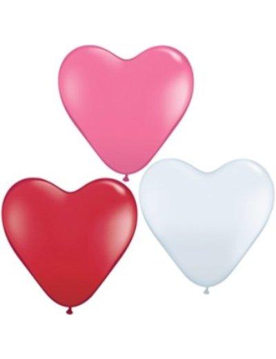 Ballonnen Hartje 10inch - 10stk