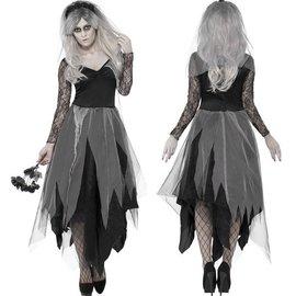 Graveyard Bride Halloween Verkleedkostuum