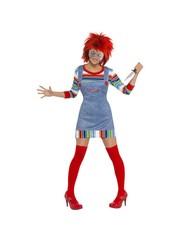 Eng Chucky Dames Verkleedkleding