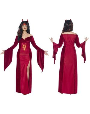 Curves Devil Dames Duivel Kostuum