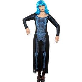 Aanbieding X Ray Print Jurk Halloween Kostuum