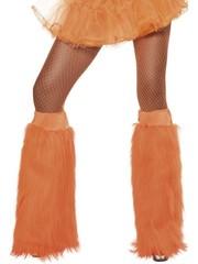 Oranje Bootcovers Harige Beenwarmers