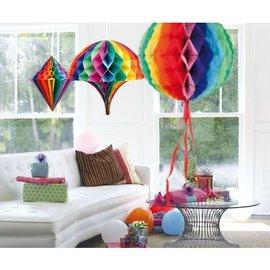 3 stuks Regenboog Honeycombs Vormen Set