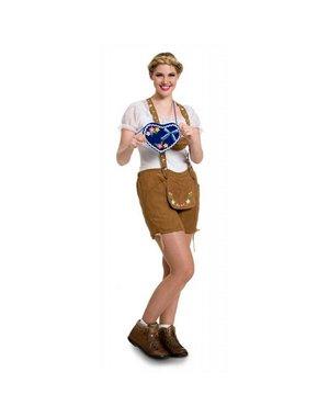 Dames Oktoberfest Lederhosen Bierfeest