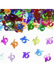 16e Verjaardag Confetti