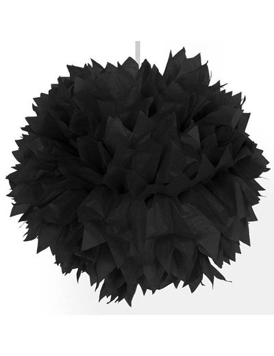 Zwarte Pompom