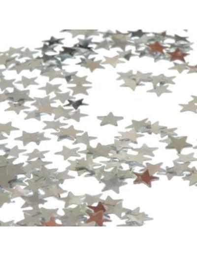 5mm Zilveren Sterren Foiletti Confetti