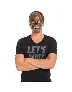 Transparant Skelet Halloween masker
