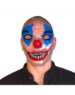 Transparant Clown Horror Masker
