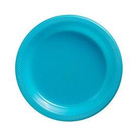 8x Lichtblauwe Weggooi Bordjes