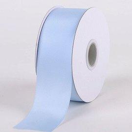 Lichtblauw Krullint Bloemenlint